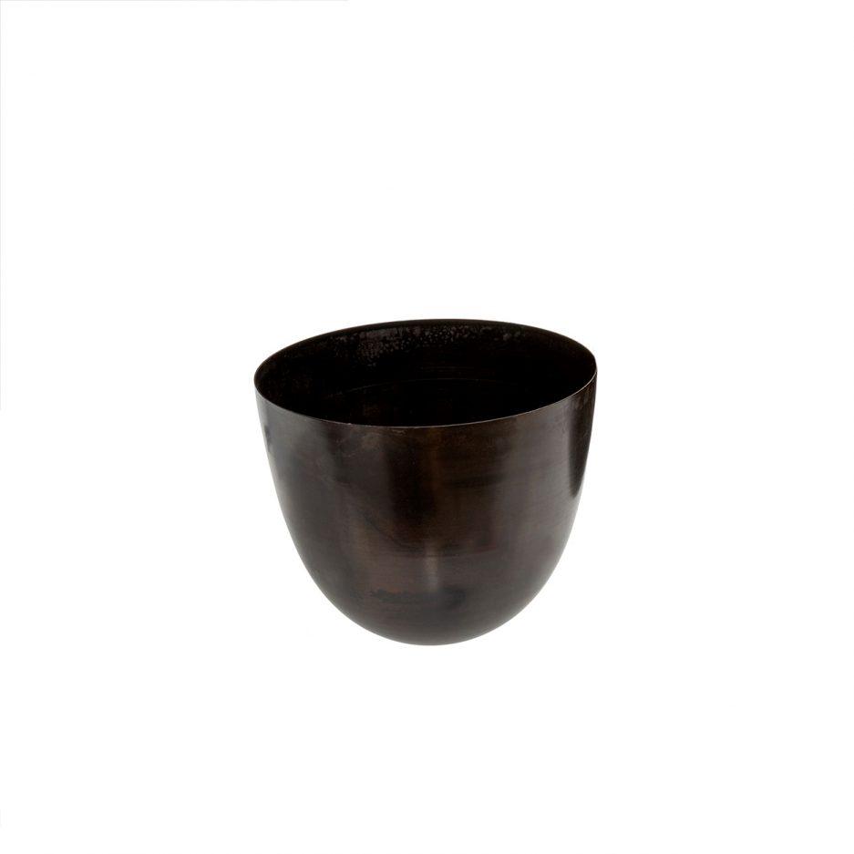 Pot noir arrondi - Petit