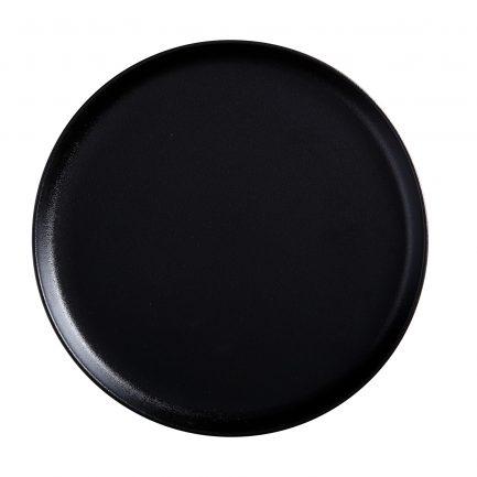 Assiette creuse noire