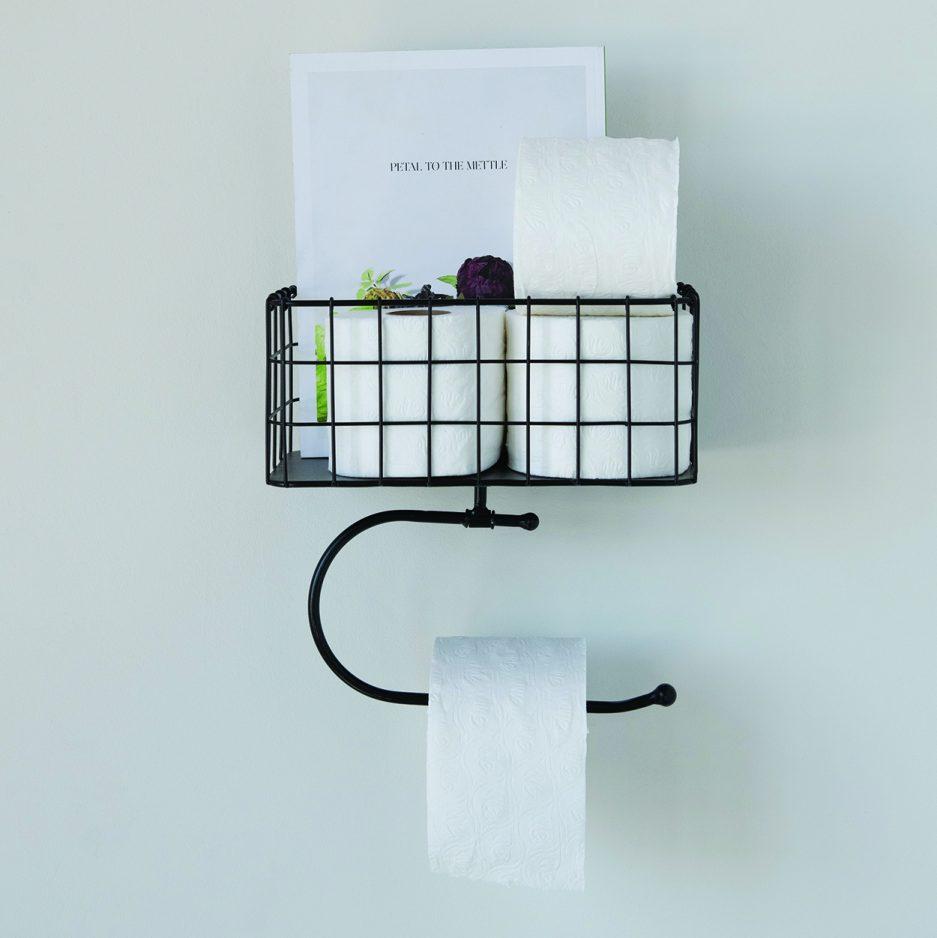 Panier métal papier toilette