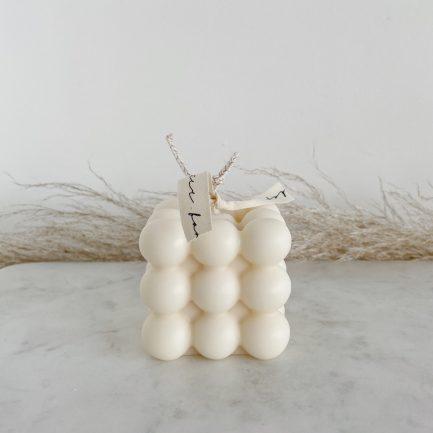 Bougie Bubble – Lime et coconut