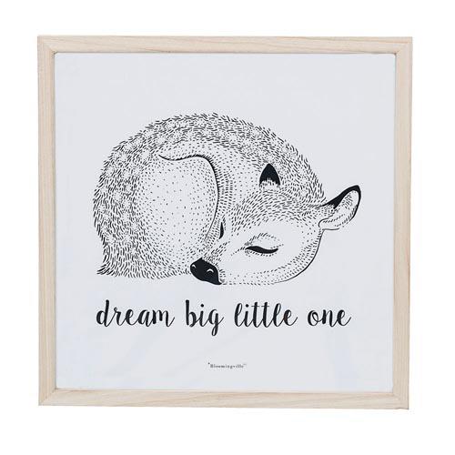Cadre en bois Dream big little one
